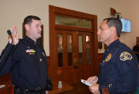 Randall Smith promoted to Sgt. of KWPD