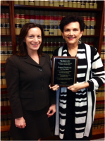 Congratulations to State Attorney's Office Employee of the Quarter: Anna Hubicki