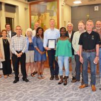 Take Stock Mentors Honored