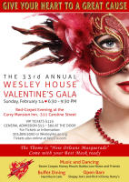 Wesley House Valentine's Day Gala
