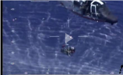 Coast Guard Rescues Navy Pilot from Waters 20 Nautical Miles Southeast of Key West