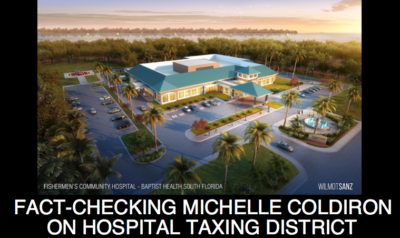 Fact Checking Michelle Coldiron on the Fishermen's Hospital Taxing District