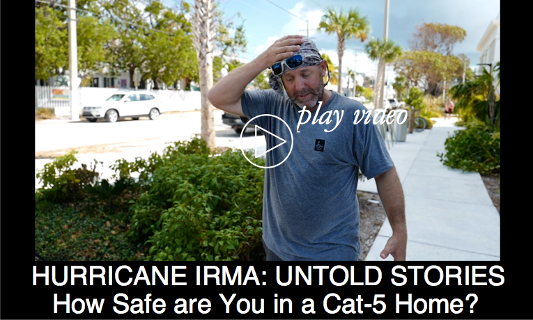 UNTOLD HURRICANE STORIES: How Safe are You in a Cat 5 House?