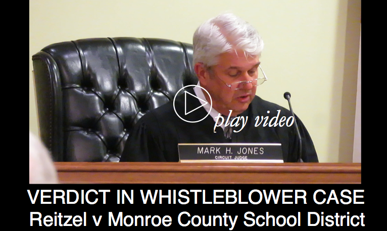 Verdict in School District Whistleblower Case