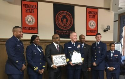 U.S. Coast Guard Signs Memorandum of Agreement with Virginia State University as Part of Minority-Serving Institutions Partnership Program