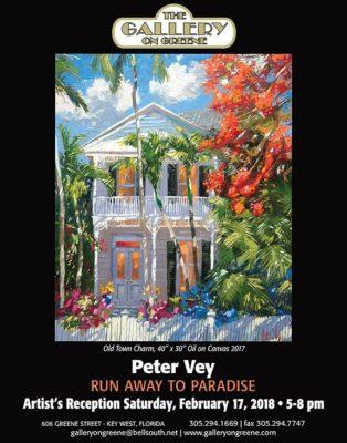 Peter Vey,Run Away to Paradise, Feb. 17