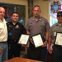 VFW Honors First Responders
