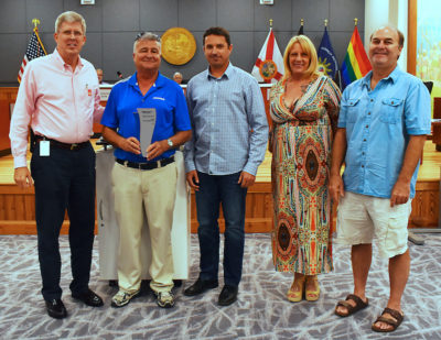 "Key West Wastewater Treatment Plant Operators Given ""Water Heroes Award"" for Going ABOVE & BEYOND..."