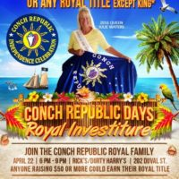 Conch Republic Seeks Candidates for Royal Family Investiture!