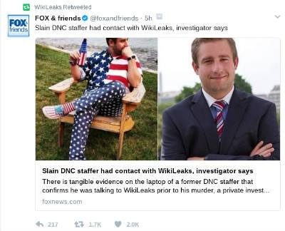 Seth Rich, the DNC, and WikiLeaks: The Plot Thickens