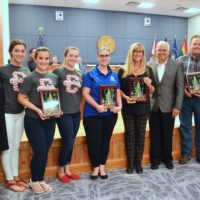 Parade Winners Awarded Plaques
