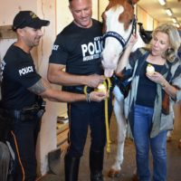 Generous Donation to the KWPD Mounted Unit