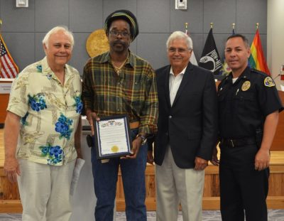 City Commends Exemplary Deed